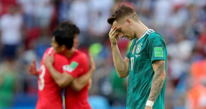 Germany knocked out of 2018 World Cup