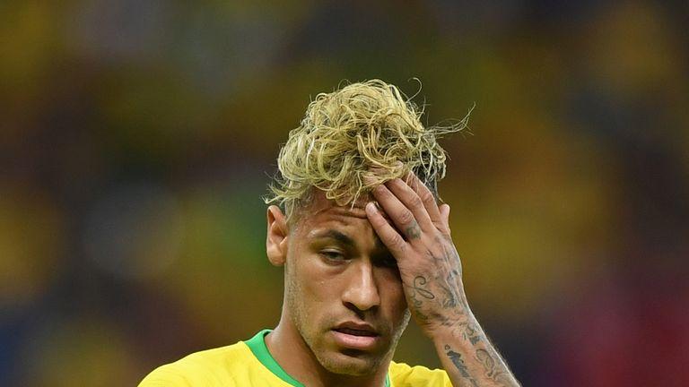 Neymar shows frustration as Brazil stymied by Switzerland