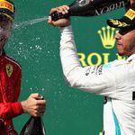 GP húngaro: Lewis Hamilton cruza a la victoria por delante de Sebastian Vettel