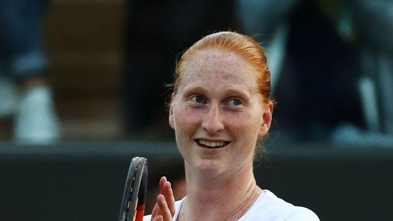 Alison Van Uytvanck Shocked Defending Wimbledon Champion Garbine Muguruza