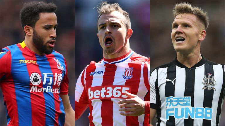 Xherdan Shaqiris Move To Liverpool Could Trigger Deals For Andros Townsend And Matt Ritchie