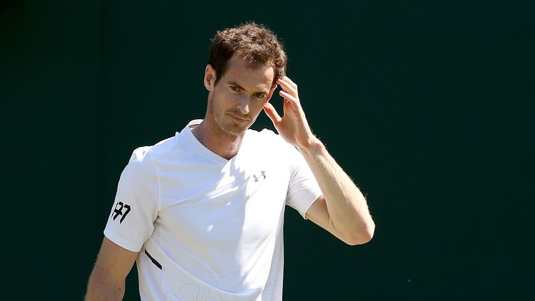 Andy Murray has withdrawn less than 24 hours before Wimbledon begins