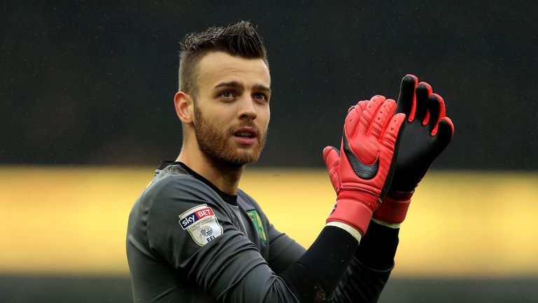 Gunn kept 15 clean sheets in 51 appearances in all competitions last season