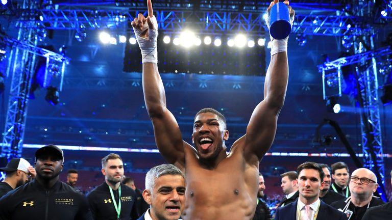 Mayor of London, Sadiq Khan, is looking forward to two more 'incredible nights' at Wembley