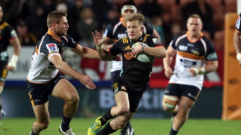 Damian McKenzie proved the brightest spark for the Chiefs again as they beat the Brumbies