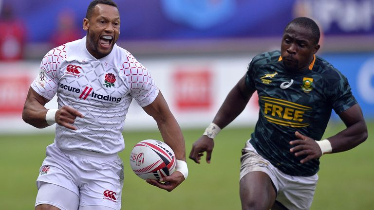 England men beat Samoa in World Cup Sevens opener