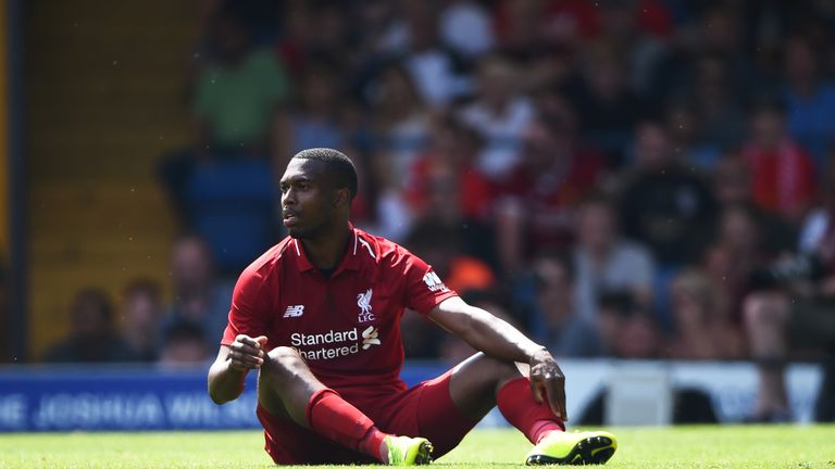 Sturridge has fallen down the pecking order at Liverpool