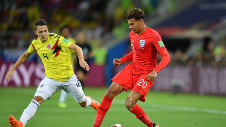 The Tottenham midfielder has struggled for fitness at times during the tournament