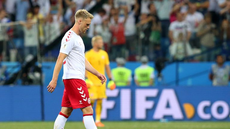 Nicolai Jorgensen was brought on as a substitute in the defeat to Croatia, and failed to convert his penalty in the shootout