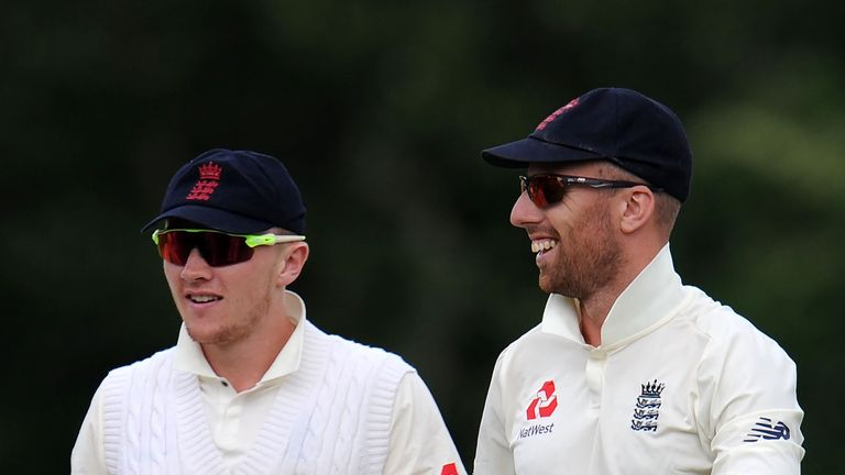 Dom Bess and Jack Leach both played for the England Lions against India A this week