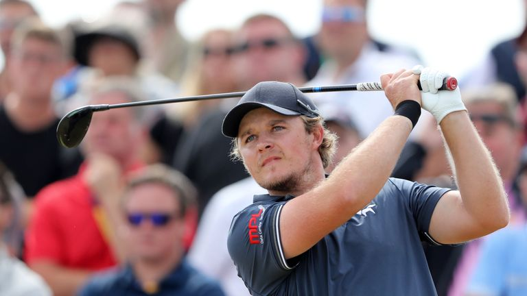 Eddie Pepperell is in the first group out on the first tee