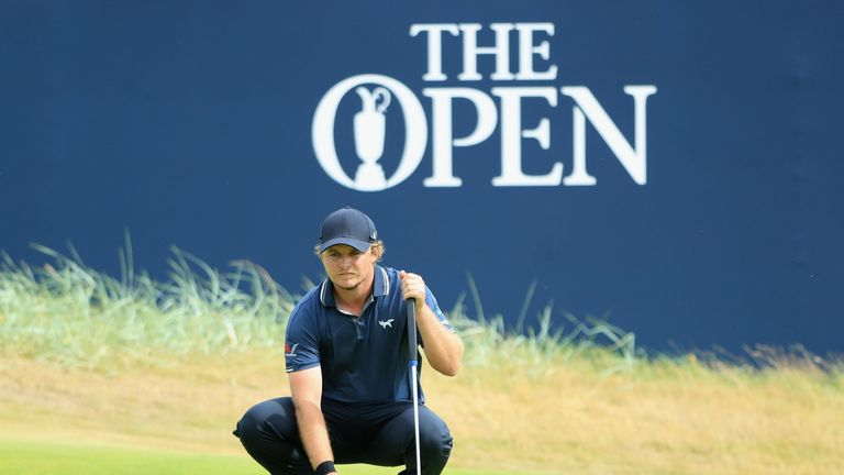 Eddie Pepperell 'hungover' at the Open