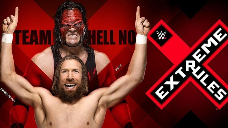Extreme Rules takes place on Sky Sports Box Office on Sunday night