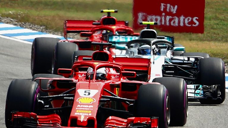 I don't blame Bottas for collision - Vettel