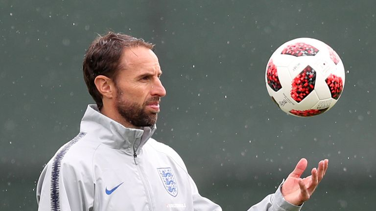 Gareth Southgate has received praise for England's style of play in Russia and his side's success from set-pieces