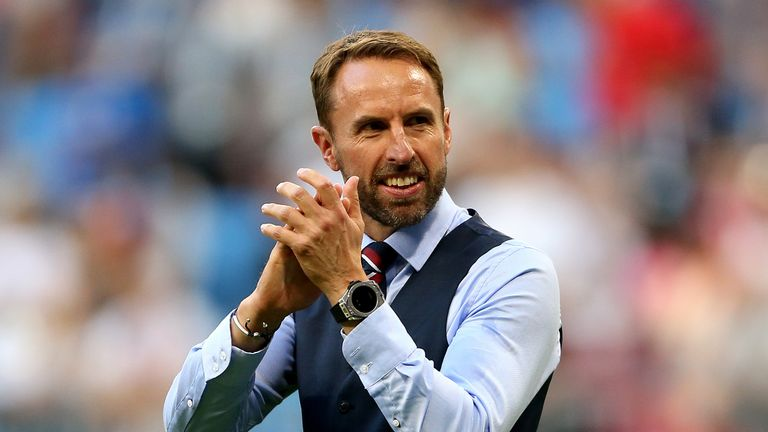 England manager Gareth Southgate has been praised by the former defender