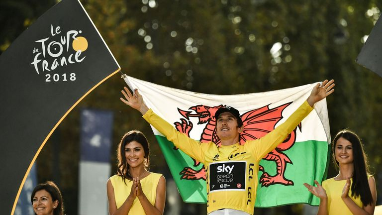 Geraint Thomas is the first Welshman to win the Tour de France