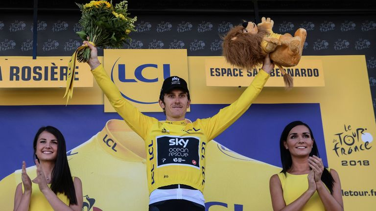 Geraint Thomas showed great promise as a youngster and has fulfilled that