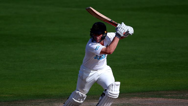 Harry Finch made 76 but Sussex were bowled out for 286