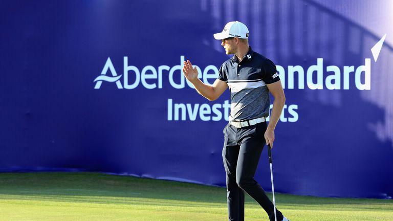 Jen Dantorp leads the Scottish Open