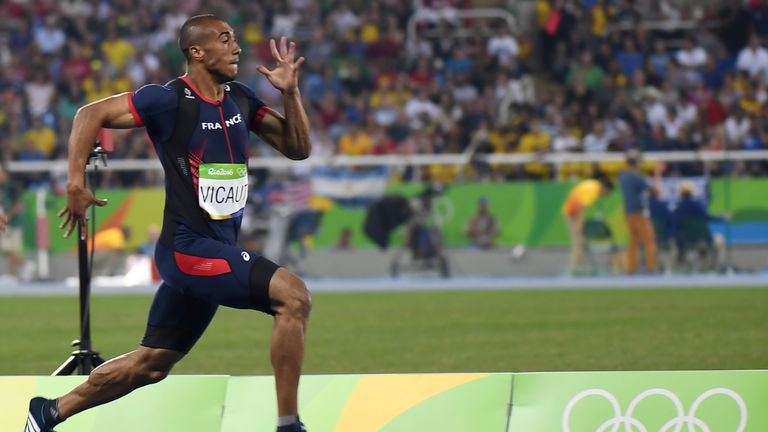 Jimmy Vicault is the star name in the 100m having mixed it with Usain Bolt in the Olympics