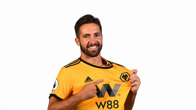 Joao Moutinho becomes Wolves' eighth signing of the summer