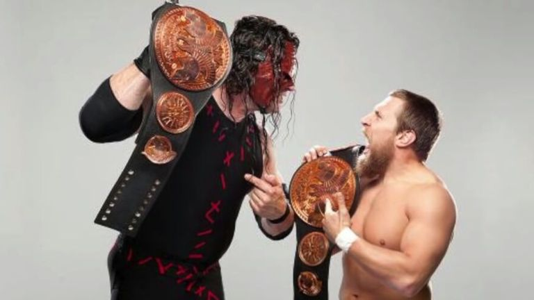 Despite a rather volatile relationship, Team Hell No! previously held the titles for 245 days between 2012 and 2013.