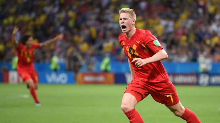 Kevin de Bruyne says Martinez has instilled much-need belief in Belgium's players
