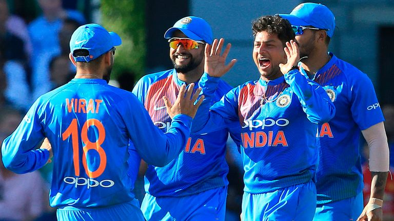 England had no answer to Kuldeep Yadav's left-arm wrist spin