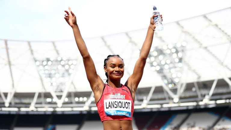 Imani  Lansiquot showed off her potential in the 100m in the Diamond League