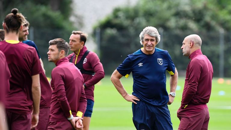 Manuel Pellegrini's first game at the London Stadium as West Ham manager will be against Bournemouth on August 18