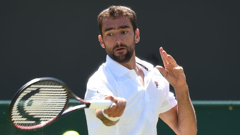 Marin Cilic underlined his Grand Slam title credentials