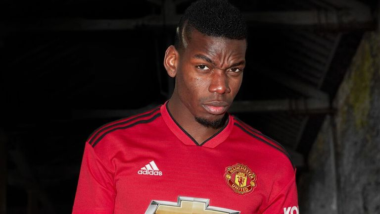 Paul Pogba has been linked with a move to Barcelona