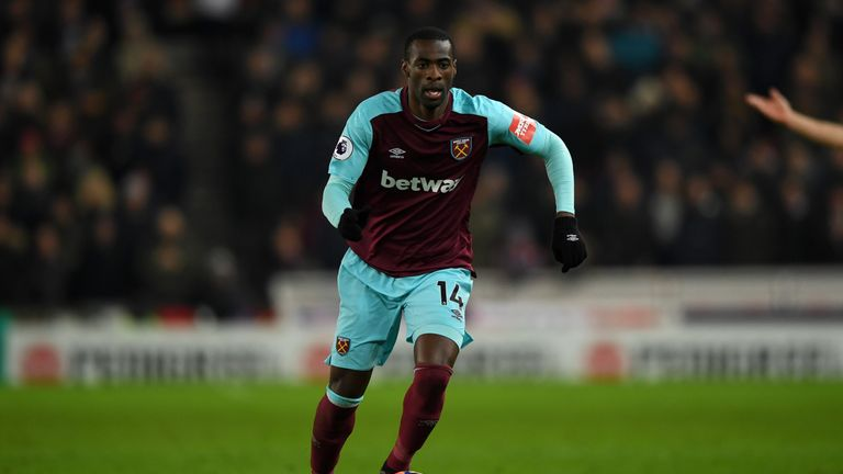 West Ham are also in talks to sell midfielder Pedro Obiang