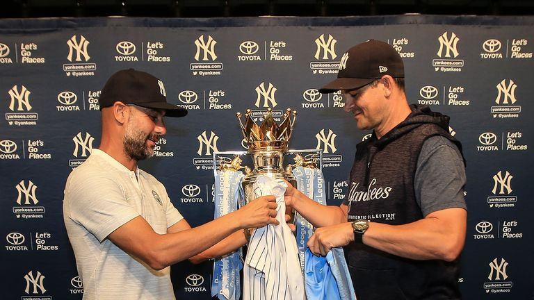Manchester City are currently on a pre-season tour of the US taking part in the International Champions Cup