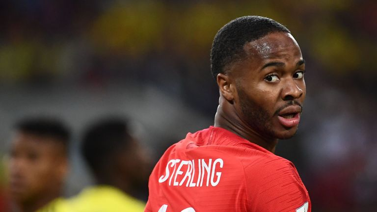 Sterling missed a golden chance to make it 2-0 in the first half but otherwise caused havoc in the Sweden defence