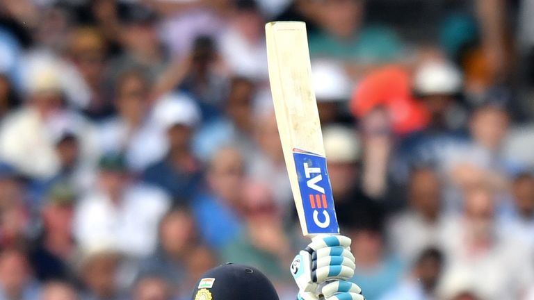 Rohit Sharma's hundred was his 18th in ODIs