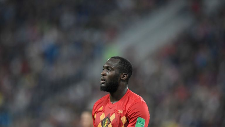 Romelu Lukaku was kept quiet as France knocked Belgium out of the World Cup