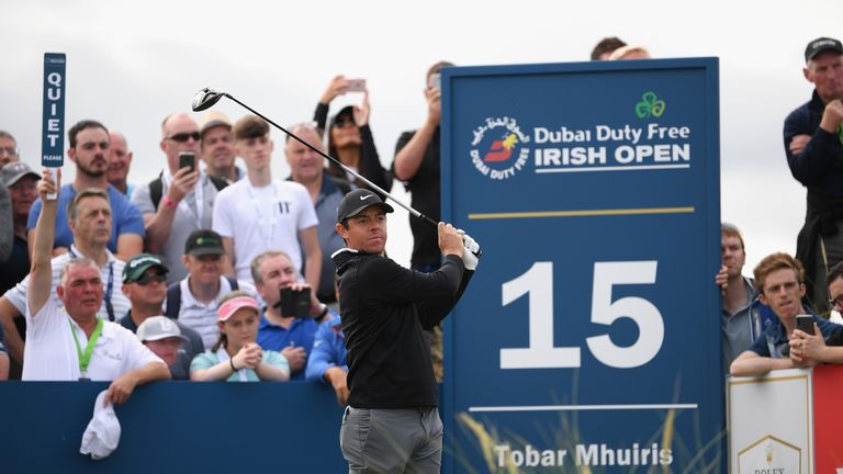 McIlroy is in the group on one under at the halfway stage