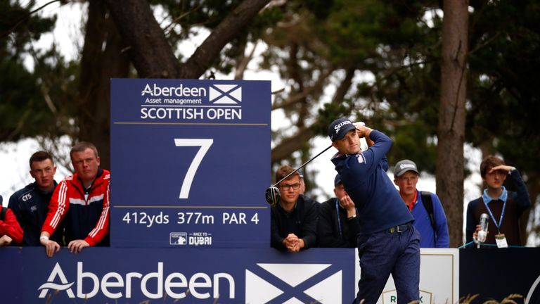 Russell Knox beat Ryan Fox in a play-off to win the Irish Open in the previous Rolex Series event