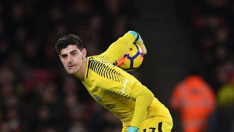 Real Madrid value Thibaut Courtois at £32m