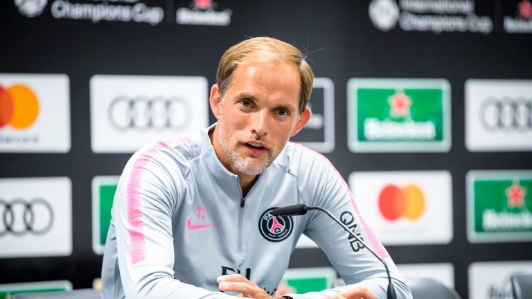 Thomas Tuchel says he was never in the running for the Arsenal job