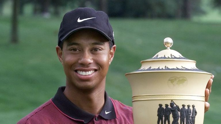 Tiger Woods returns to Akron for final Bridgestone Invitational tournament