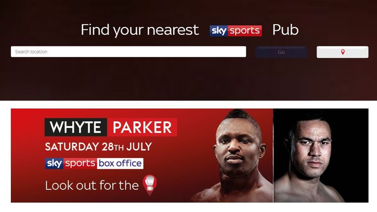 how to order boxing on sky box office