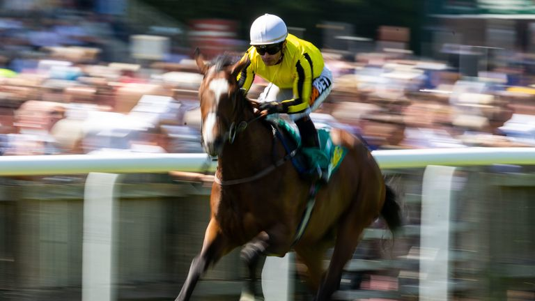 Pretty Pollyanna is clear of her Newmarket rivals