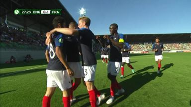 Nabil Alioui celebrates putting France ahead