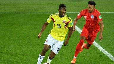 Jefferson Lerma featured in all four of Colombia's World Cup matches in Russia