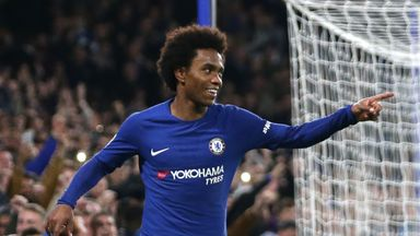 Barcelona have made a third bid to try and sign Willian from Chelsea