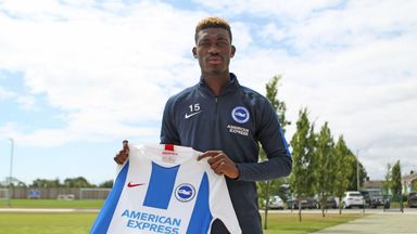 Yves Bissouma has swapped France for the south coast of England