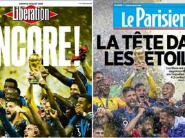 The French press react to their World Cup win
